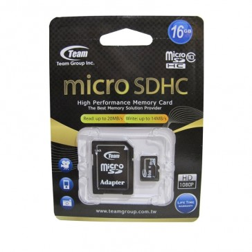 Team 16GB Micro SD Card