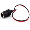 12V Cigarette Lighter Power Socket Adapter